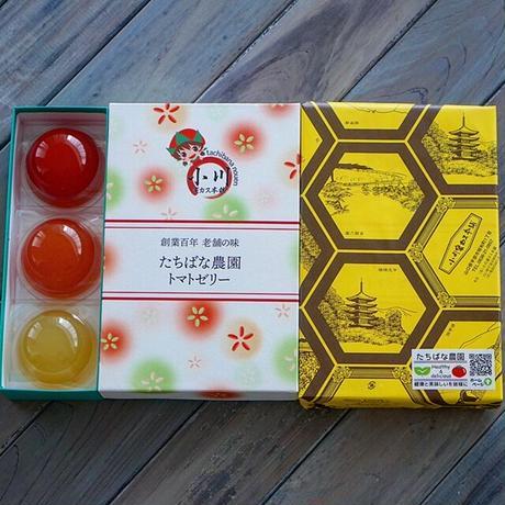 小川蜜カス本舗 たちばな農園トマトゼリー(6個入り)緑・赤・濃赤