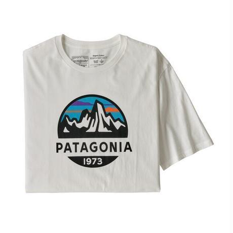 Patagonia(パタゴニア) レディース対応 メンズ・フィッツロイ・スコープ・オーガニック・Tシャツ #38526 White (WHI)