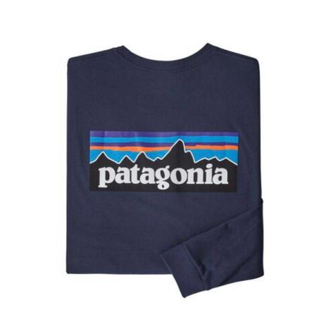 Patagonia(パタゴニア) メンズ・ロングスリーブ・P-6ロゴ・レスポンシビリティー #38518 (CNY) [30&80-pt38518]