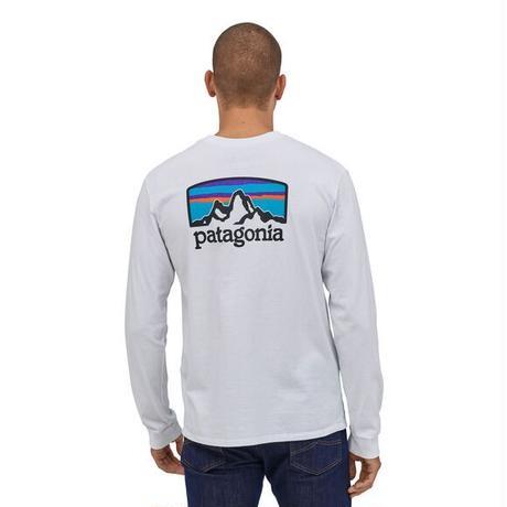 Patagonia(パタゴニア)メンズ・ロングスリーブ・フィッツロイ・ホライゾンズ・レスポンシビリティー #38514 (WHI)【30&60 - PT38514】