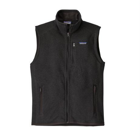 Patagonia(パタゴニア) メンズ・ベター・セーター・ベスト  #25882    Black (BLK) ■販売スタート!
