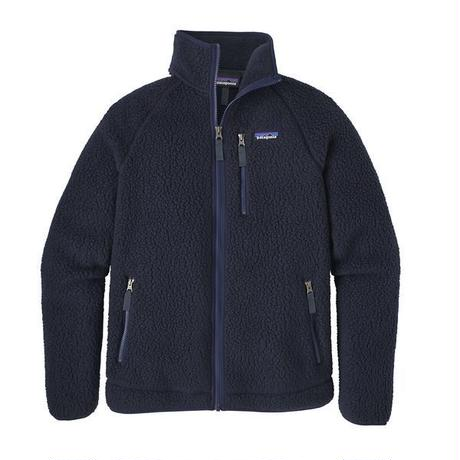 Patagonia(パタゴニア) メンズ・レトロ・パイル・ジャケット  #22800  Navy Blue (NVYB)  [商品管理番号:48-pt22800]
