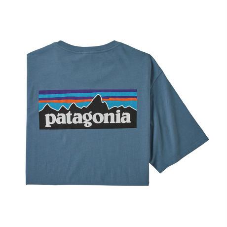 Patagonia(パタゴニア) メンズ・P-6ロゴ・オーガニックコットンTシャツ #38535 (PGBE)