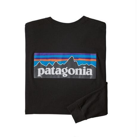 Patagonia(パタゴニア) メンズ・ロングスリーブ・P-6ロゴ・レスポンシビリティー#38518 (BLK)