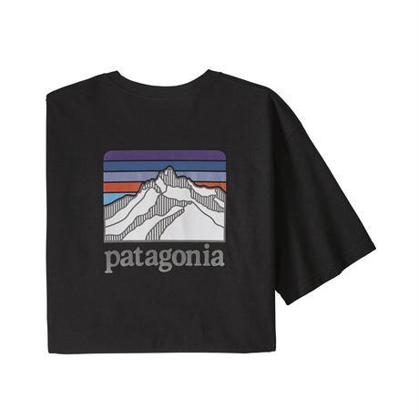 Patagonia(パタゴニア) メンズ・ライン・ロゴ・リッジ・ポケット・レスポンシビリティー #38511 Black (BLK)