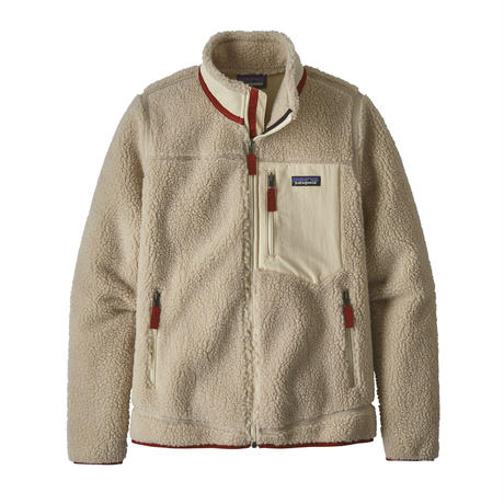 Patagonia(パタゴニア) ウィメンズ・クラシック・レトロX・ジャケット  #23074    Natural w/Oyster White (NAOW) ■販売スタート!