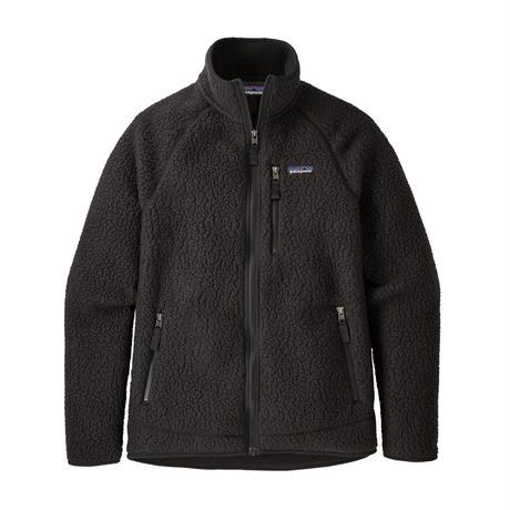 Patagonia(パタゴニア) メンズ・レトロパイルジャケット  #22801 Black (BLK)