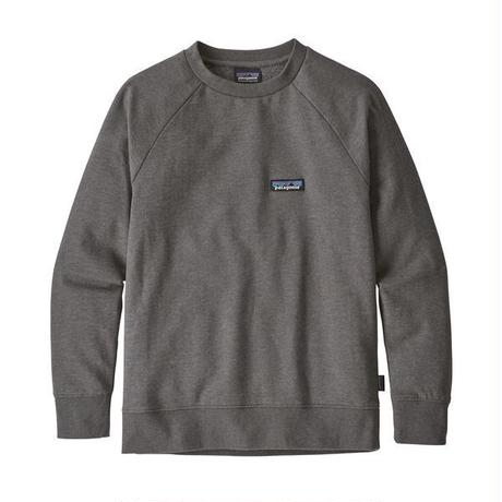 Patagonia(パタゴニア)  キッズ・ライトウェイト・クルー・スウェットシャツ #63015 P-6 Label: Forge Grey (PLFG)