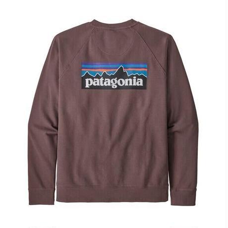 Patagonia (パタゴニア) メンズ・P-6 ロゴ・オーガニック・クルー・スウェットシャツ #39603 (DUBN) 31&81-pt39603