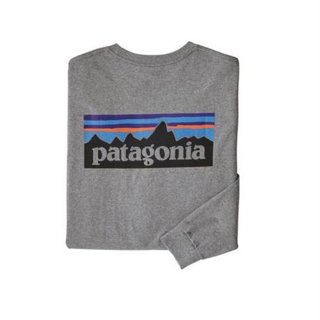 Patagonia(パタゴニア) メンズ・ロングスリーブ・P-6ロゴ・レスポンシビリティー #38518 (GLH)  [30&80-pt38518]