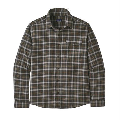 Patagonia(パタゴニア) メンズ・ライトウェイト・フィヨルド・フランネル・シャツ  #54020    Instinct: Forge Grey (INFG) ■販売スタート!