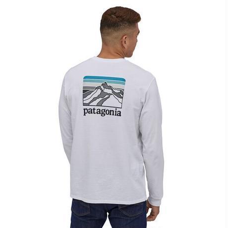 Patagonia(パタゴニア)メンズ・ロングスリーブ・ライン・ロゴ・リッジ・レスポンシビリティー#38517(WHI)30&80-pt38517