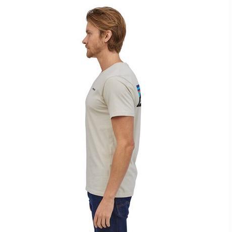 Patagonia(パタゴニア) メンズ・P-6ロゴ・オーガニックコットンTシャツ #38535(PUM)