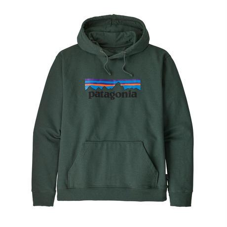 Patagonia(パタゴニア) メンズ・P-6ロゴ・アップライザル・フーディ  #39539    (ARGR) ■販売スタート!