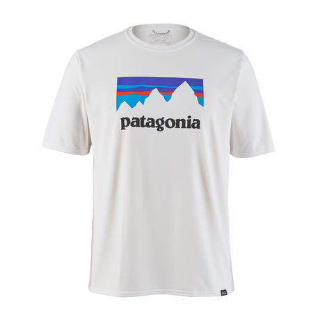 Patagonia(パタゴニア) メンズ・キャプリーン・クール・デイリー・グラフィック・シャツ #45235 Shop Sticker: White (STWI)