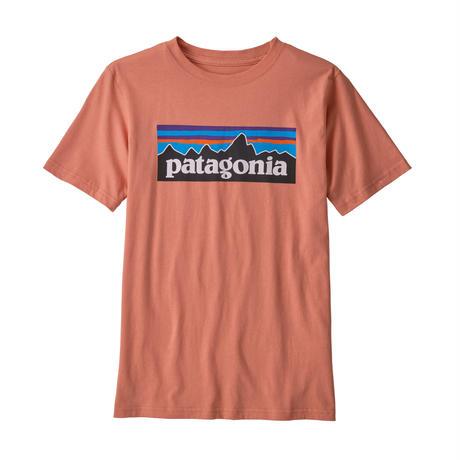Patagonia(パタゴニア) レディース対応 ボーイズ・P-6ロゴ・オーガニック・Tシャツ #62153 60&131 - PT62153  (MEMN)