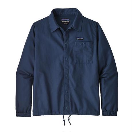 Patagonia(パタゴニア) メンズ・ライトウェイト・オールウェア・ヘンプ・コーチズ・ジャケット #25335 Stone Blue (SNBL)