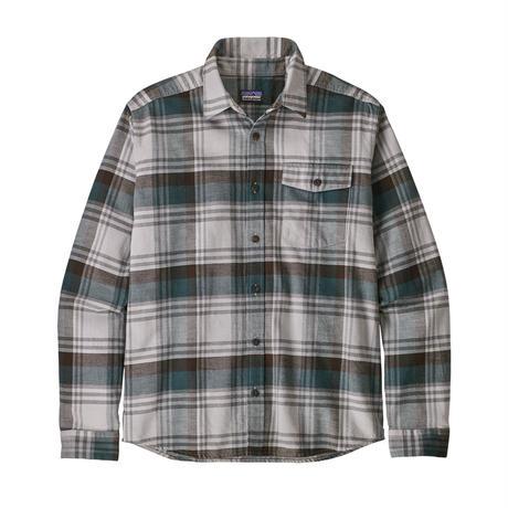 Patagonia(パタゴニア) メンズ・ライトウェイト・フィヨルド・フランネル・シャツ  #54020    Buttes: Tailored Grey (BSTG) ■販売スタート!