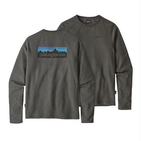 Patagonia(パタゴニア) メンズ・P-6 ロゴ・ライトウェイト・クルー・スウェットシャツ #39550 Forge Grey (FGE) ■販売スタート!
