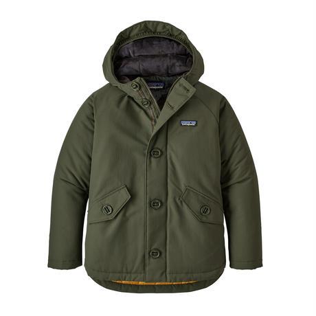 Patagonia(パタゴニア) ボーイズ・インサレーテッド・イスマス・ジャケット    #68045       Alder Green (ARGR) ■販売スタート!