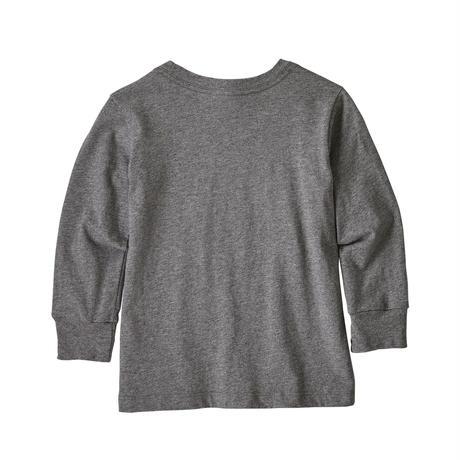 Patagonia(パタゴニア) ベビー・ロングスリーブ・グラフィック・オーガニックTシャツ(FSGH) 【137 - PT60370】