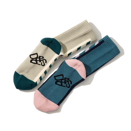 "Diaspora skateboards ""UC Socks  "" (aquamarine)"