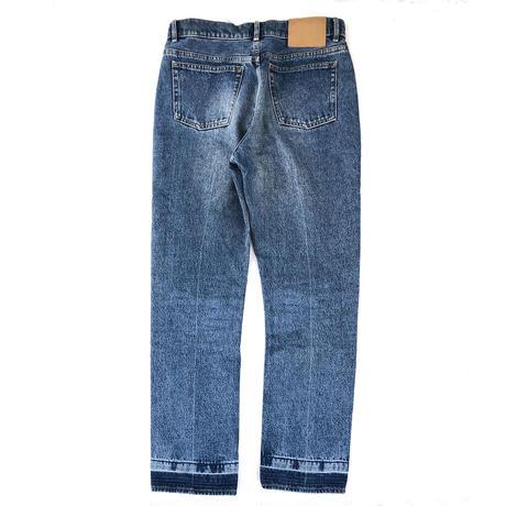 "2016 BALENCIAGA ""Blue Denim Pant""   (Hi brand hurugi)"