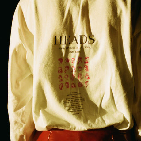 HEADS L/S Tee (pink)