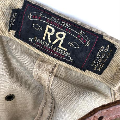 "90's  USA製   ""DOUBLE RL""  tracker  cap  (spice)"