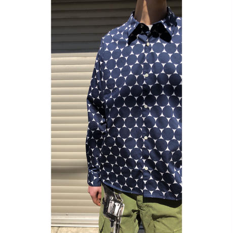 MASSES / Dot Shirt L  (red)