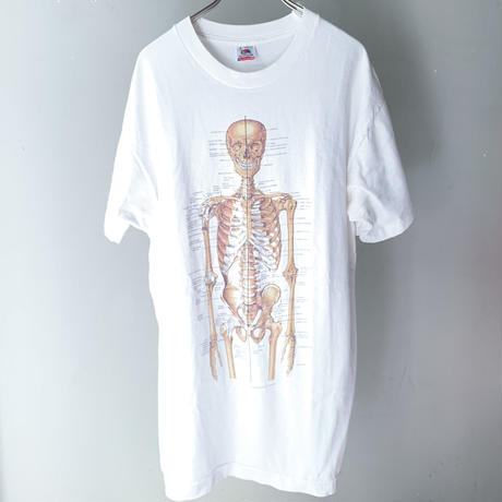 90's Human Bone Structure Tee  (spice)