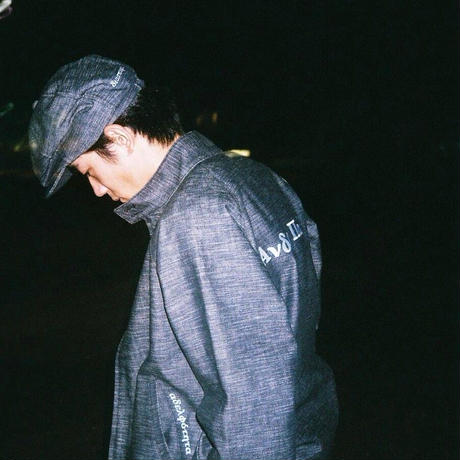 "Diaspora skateboards×Hombre Nino ""Slab Denim Work Jacket "" (Raw)"
