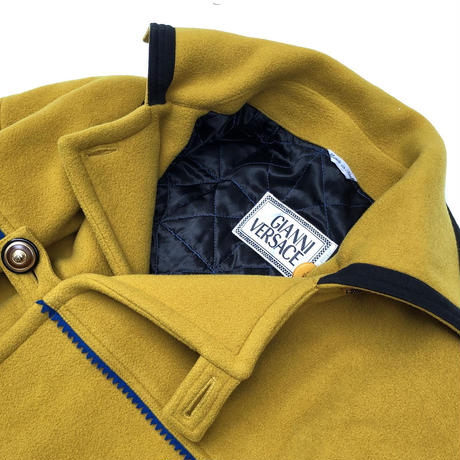"Gianni Versace  ""90's Medusa Buttun Wool Coat""  (Hi brand hurugi)"