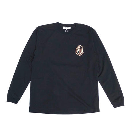 Dunno / crocodile L/S tee (black)