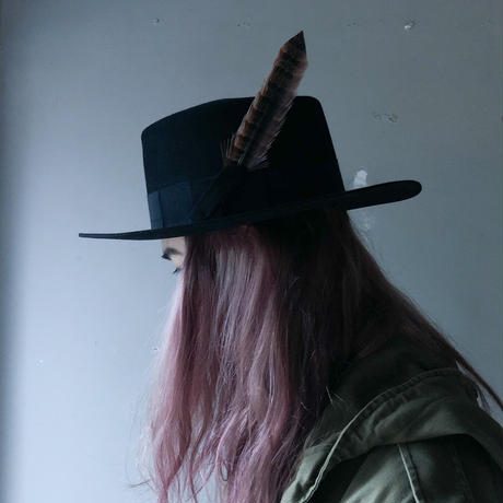 "2014 SAINT LAURENT PARIS ""Rabbit fur HAT "" (Hi brand furugi)"