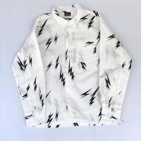 """MASSES /  """" Lightning Bolt Shirt """" (black)"""