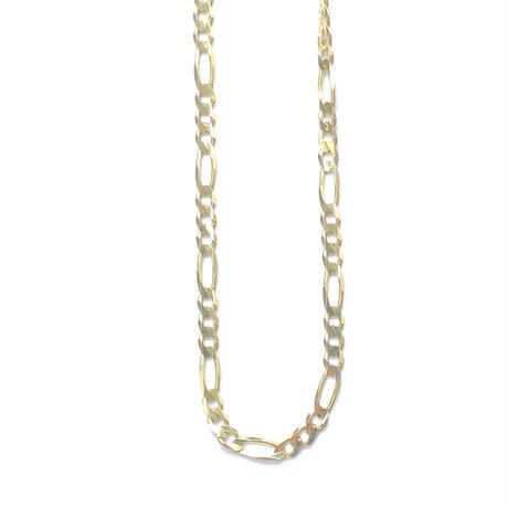 "14K GOLD NECKLACE ""Figaro"" (50cm)#12"