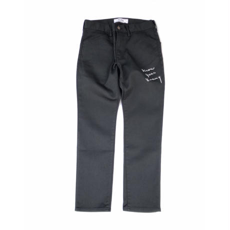 FORTY PERCENT AGAINST RIGHTS / SKINNY JEANS (black)