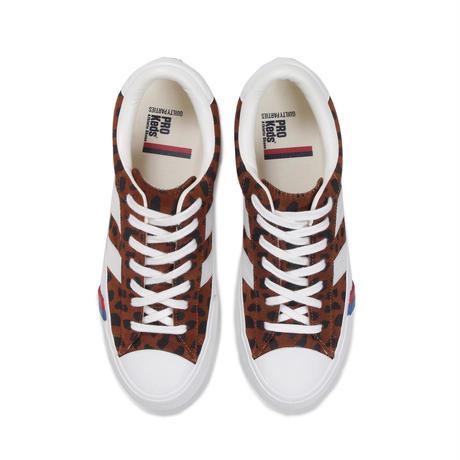 WACKO MARIA × PRO-Keds  / Leopard suede royal plus (brown)