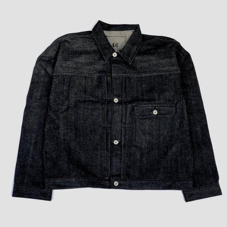 THREE FACE for CSF / denim jacket (black)