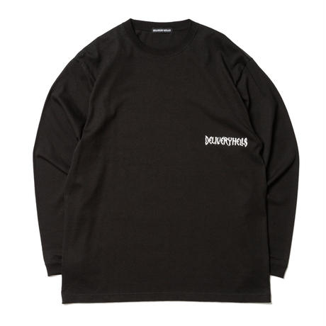 "Delivery Hells ""illusion L/S tee "" (black)"