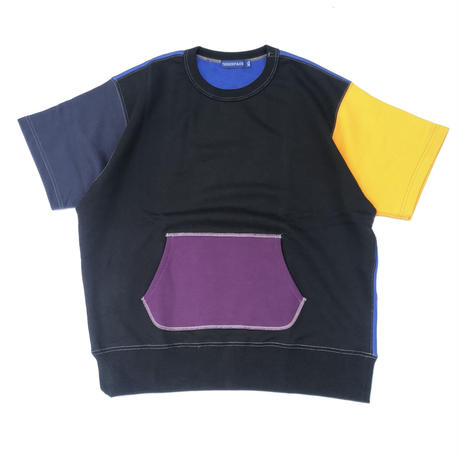 "THREE FACE  "" SS SWEAT SHIRT "" (multi color 1)"