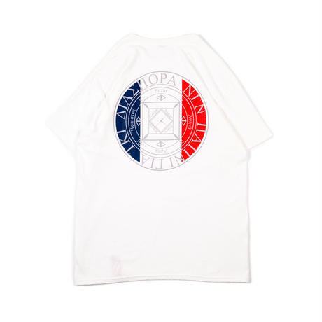 "Diaspora skateboards×PATRICK ""Patrick Magic Circle Tee "" (white)"