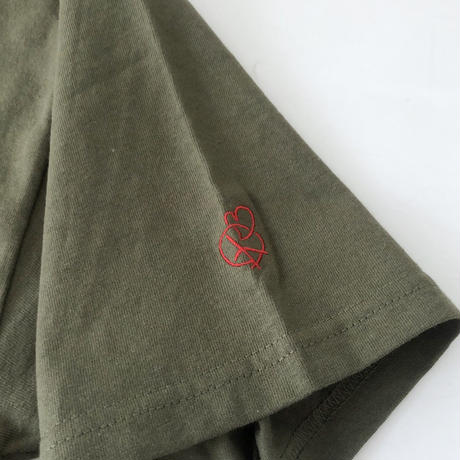 "FRT  ""ANSWER /SS Tee "" (olive)"