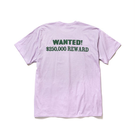 "F-LAGSTUF-F / ""WANTED"" Tee (purple)"