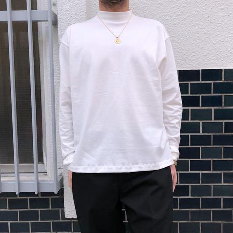 F-LAGSTUF-F × STYLIST TEPPEI / MOCK NECK L/S Tee  (black)
