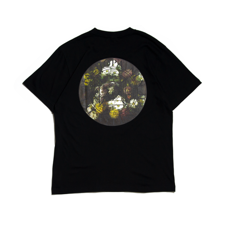 Diaspora skateboards / Henry Magic Circle Tee (black)