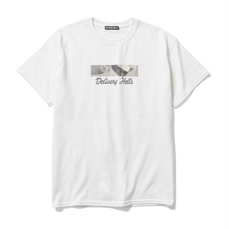 DELIVERY HELLS / MASK Tee (white)