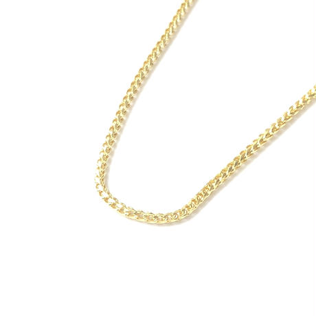 "14K GOLD NECKLACE ""Franco"" (50cm) #1"