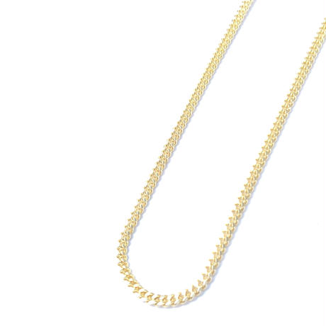 "14K GOLD NECKLACE ""Miami Cuban Link"" (50cm)#6"